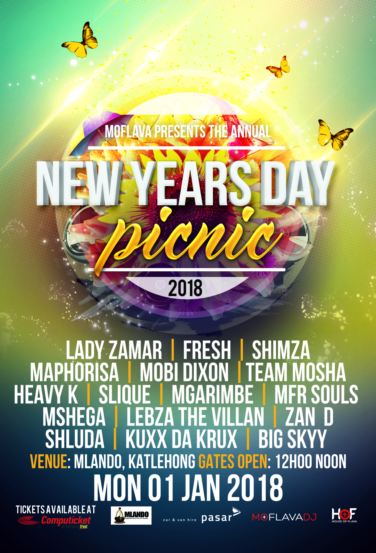 All Systems Go For Mo Flava's 9th Annual New Year's Day