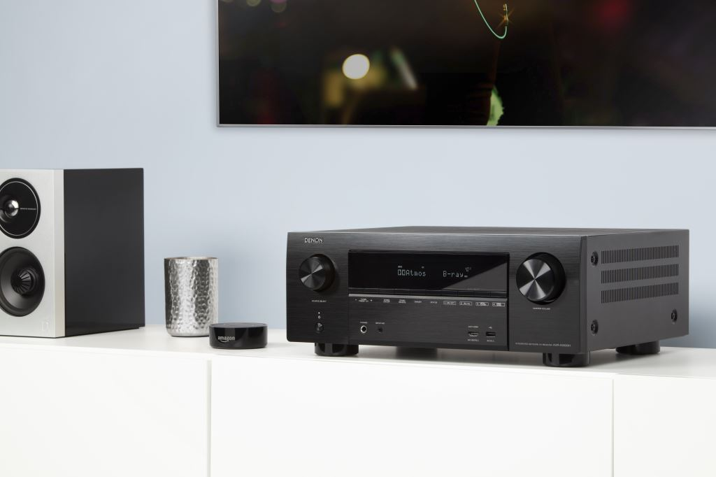 Homemation_Denon_AVRX3500H_with_Amazon_Echo_Dot